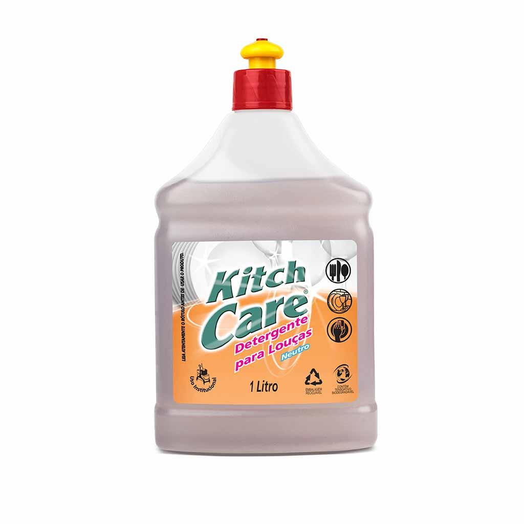 Kitch Care Detergente neutro para louças
