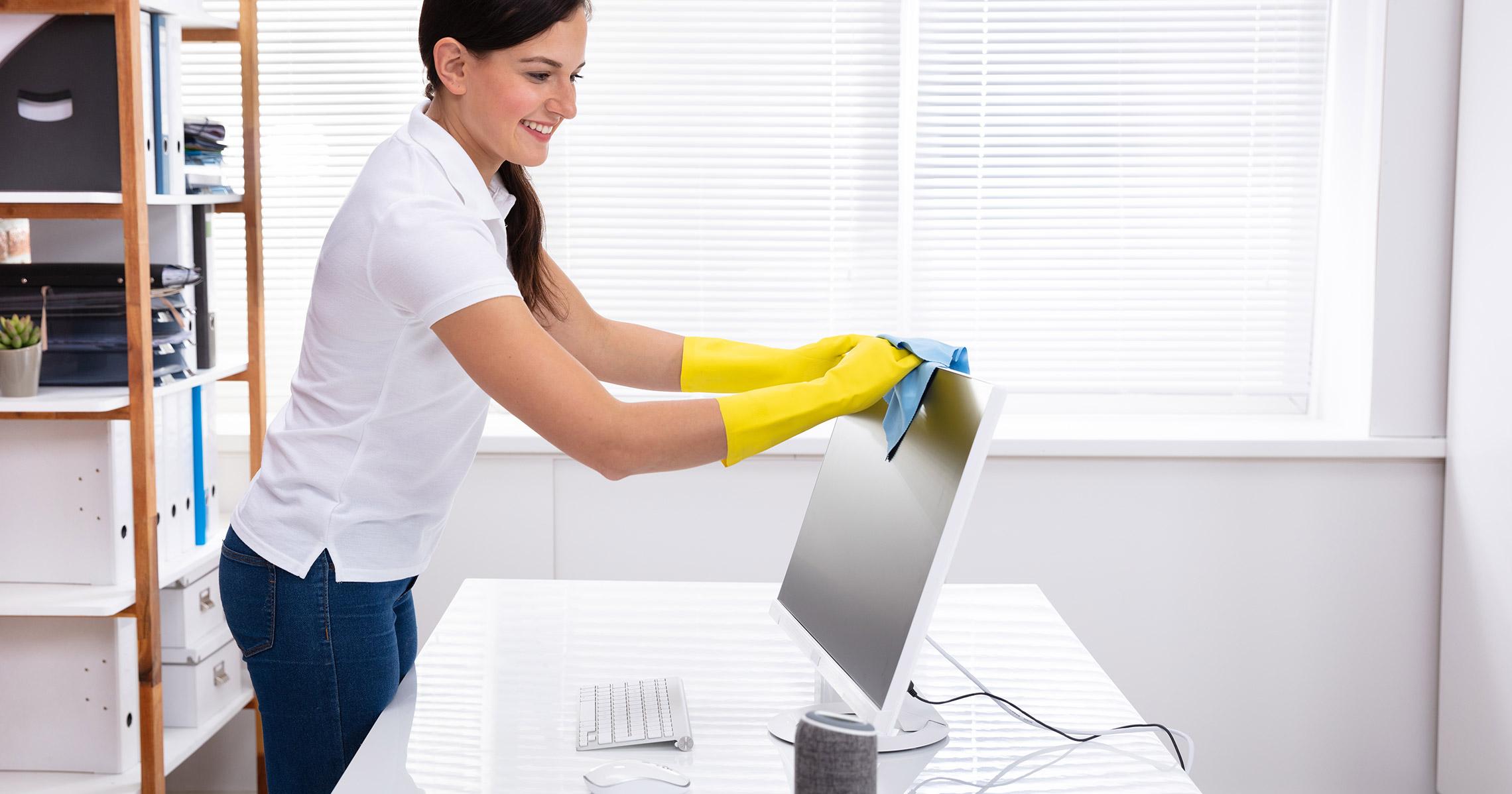 programa de limpeza mais saude no ambiente de trabalho