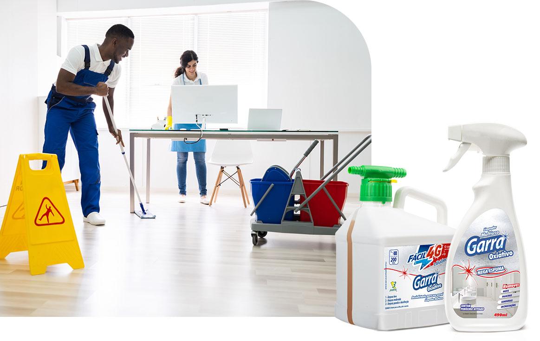 Produtos Profissionais de Limpeza