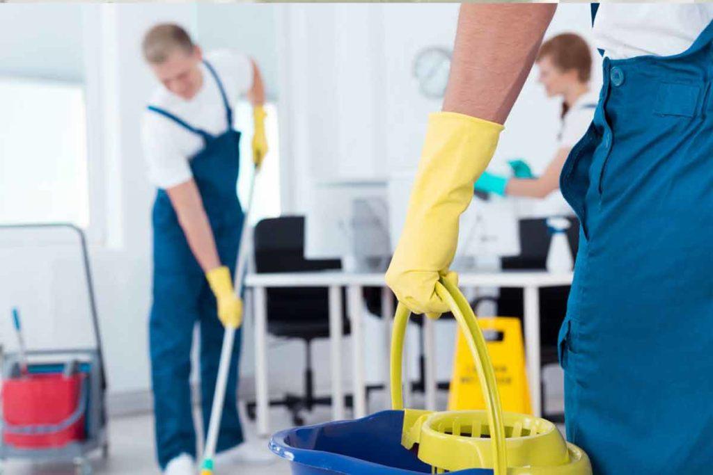 Programa de limpeza empresas